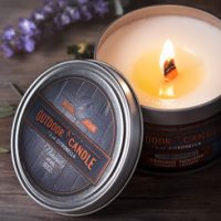 Gumleaf Outdoor Candles